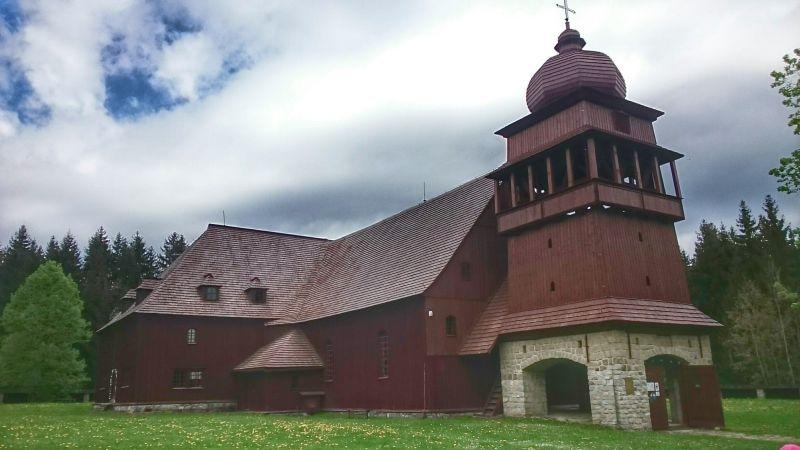 Drevený artikulárny kostol - Svätý Kríž