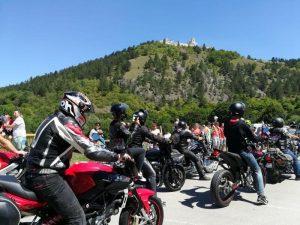 Čachtice - zraz motorkárov
