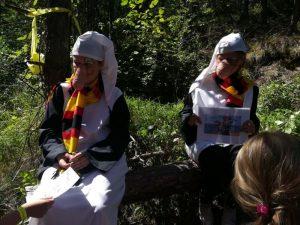 Čachtice - cesta rozprávkovým lesom