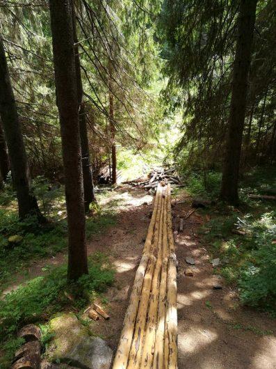 Vydrovo - lesnícky skanzen